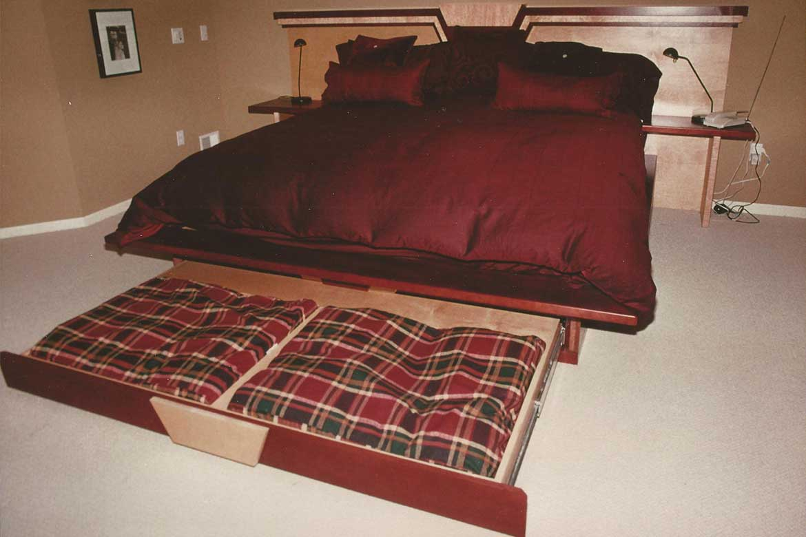 Artifice Studios Is Proud To Offer Custom Designed And Built King Size Beds Pet